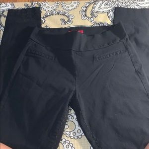 Black guess work pants black